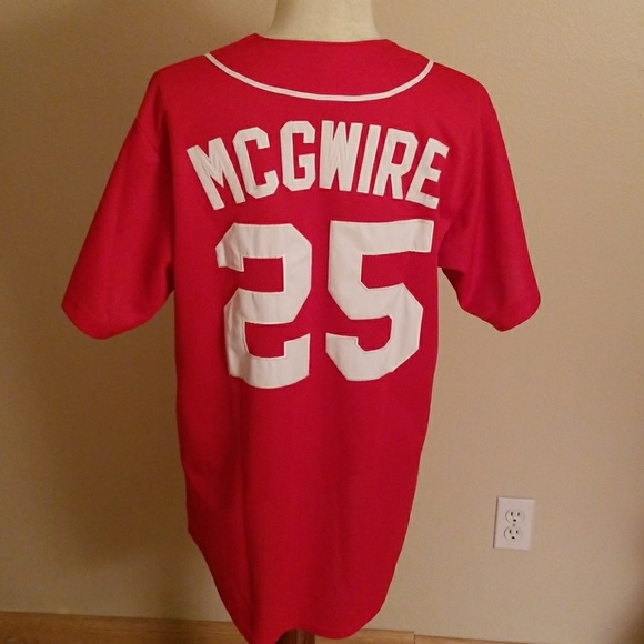 quality design a2a44 40846 Vintage MLB St Louis Cardinals Mark McGwire Jersey